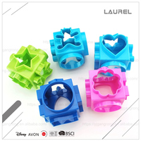Fashionable ABS eco-friendly cookie cutter set