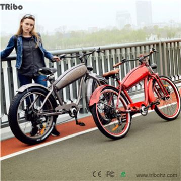 Best cheap with front light Colorful painting electric chopper bike