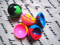 2015 Hot New Products Ball Non-stick Concentrate Silicone Container Wax