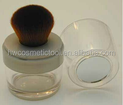 makeup brush blush containers