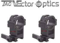 Vector Optics Tactical 30mm Quick Release High Riflescope Picatinny Mount Ring