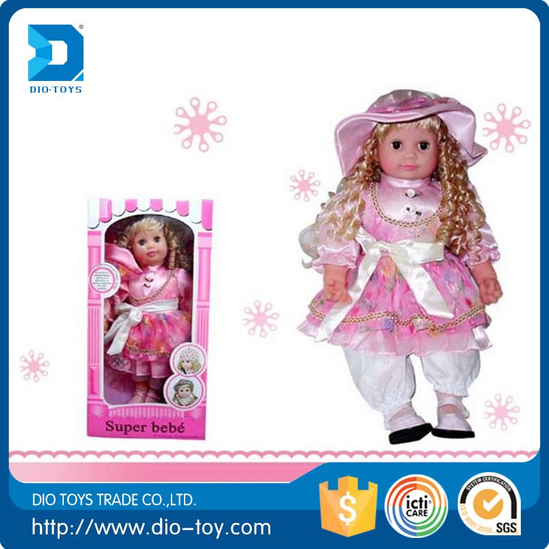 Hot selling intelligent conversation american girl doll with low price
