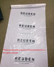 Long LDPE Garment cover bags on roll