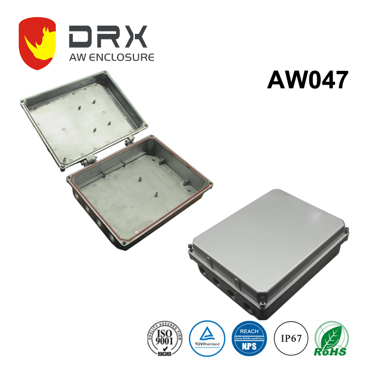 EMC-Shielded Electrical Waterproof Aluminum Heatsink Enclosure