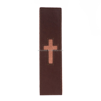 2017 Handmade Brown Genuine Leather Cross
