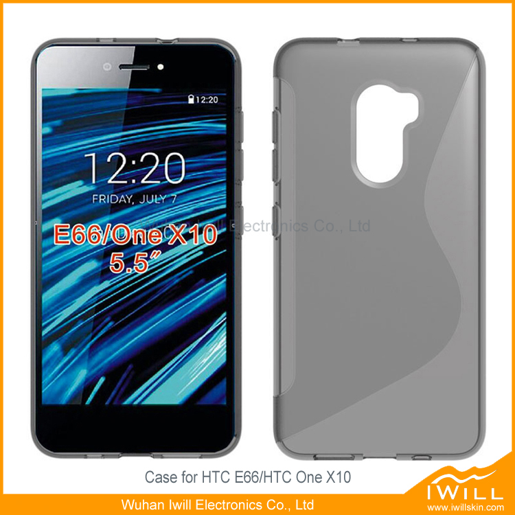 Professional Supply S Line TPU Silicone Case For HTC One X10 Rubber Cover