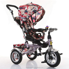 New design folding rotating baby tricycle bike / ride on toys car / kids tricycle for child