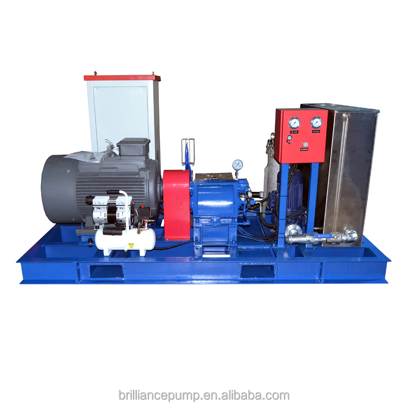 High Pressure cleaning equipment to clean tank 372L/M fuel injection pump plunger