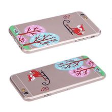fashion tpu transparent cell phone case