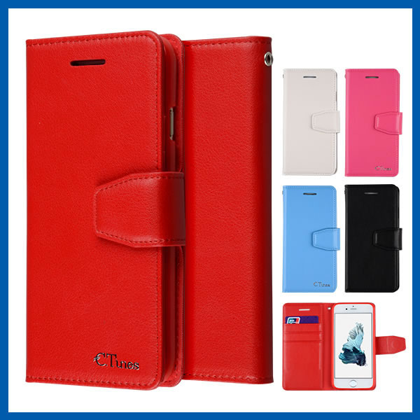 C&T Customized Phone Case Universal Smart Phone Wallet Style Leather Case Flip Leather Case Cover for For Iphone 6s