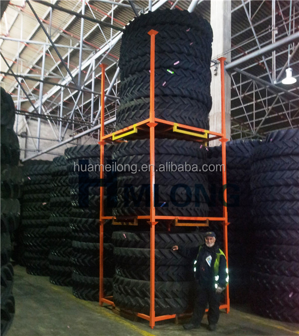 Warehouse storage truck and car tire rack