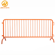 Stainless Steel Orange Temporary Safety Barrier Fence