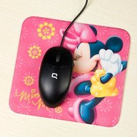 2016 Fashion Cheap PP+EVA mouse pad polyester rubber mouse pad