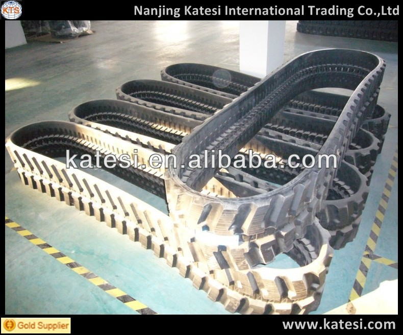 New!Low price best quality rubber track shoe and rubber pad for sales.