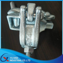 EN74 drop forged galvanized fixed coupler / 90 degree scaffolding coupler