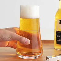 Factory manufacture High Quality Pilsner Beer Glass hot sale