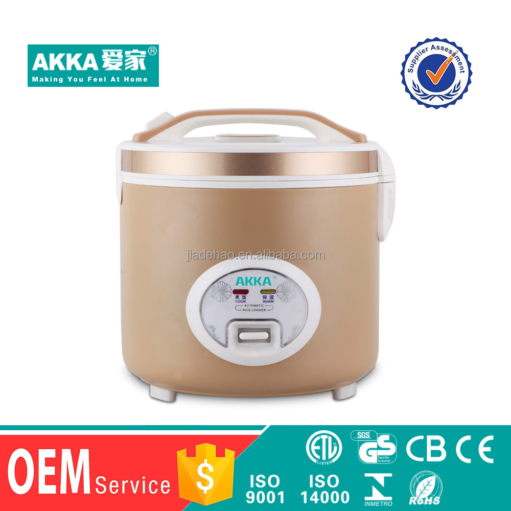 Big volume 1.8L electric parts microwave new type rice cooker