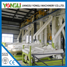YONGLI 5 tons per hour complete floating fish feed mill price
