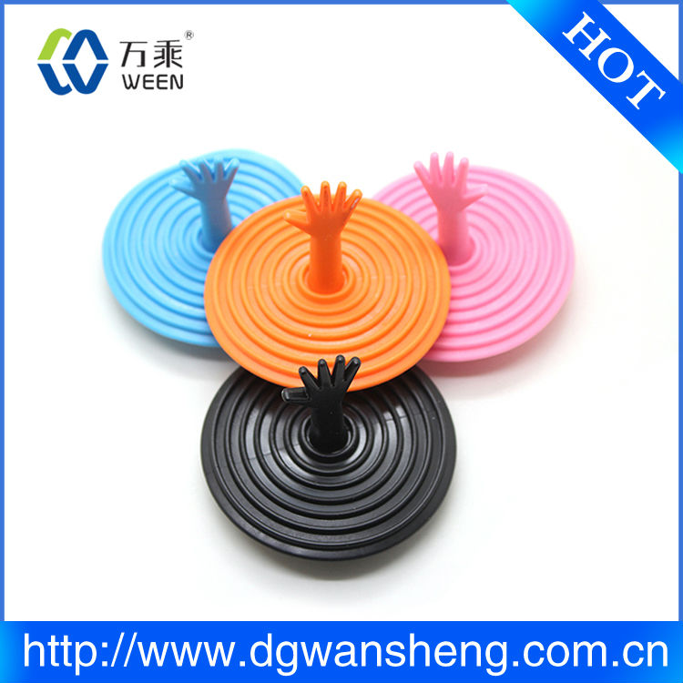 silicone stopper threaded hole plug fico bathtub drain plugs Bathroom Stainer Kitchen Water Pipe Waterproof Tank sink Plug