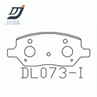 Auto brake parts rear brake pads brake shoes