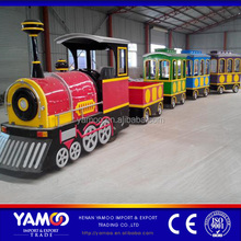 Yamoo amusement park electrical tourist trackless mini children adults size train