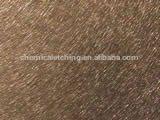 Brushed metal sheet