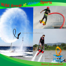 Water sports equipment for renting--flying on water flyboard