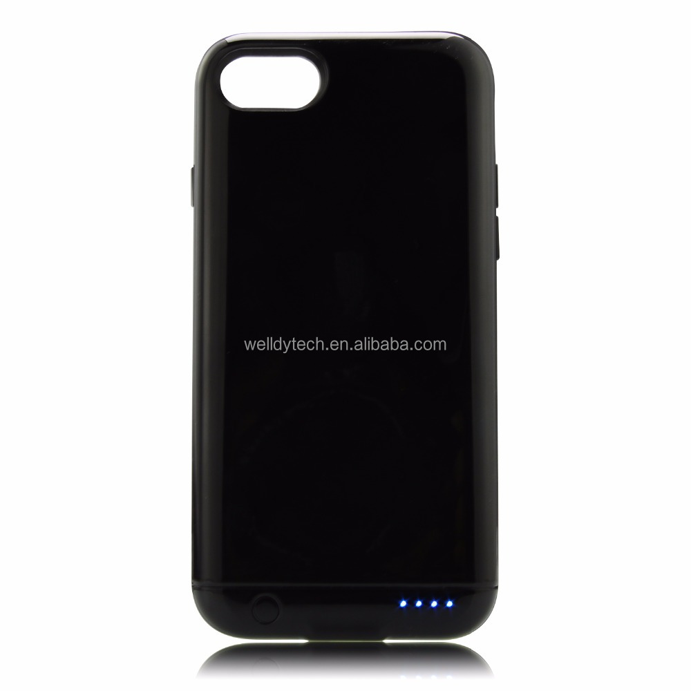 For iPhone 7 Battery Case 2400mAh Ultra Slim Extended Backup Power Bank Case
