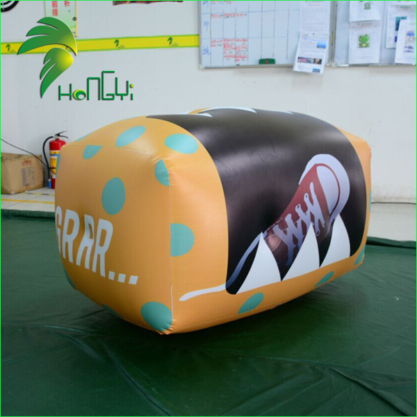 Popular Event Display PVC Inflatable Gift Box / Factory Price Inflatable Air Shoe Box Model For Promotion