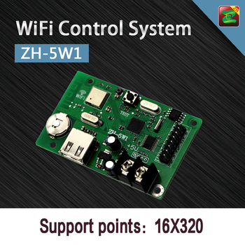 Wireless Solution LED Display WiFi Controller Remote Control System ZH-5W1 P10 Cards