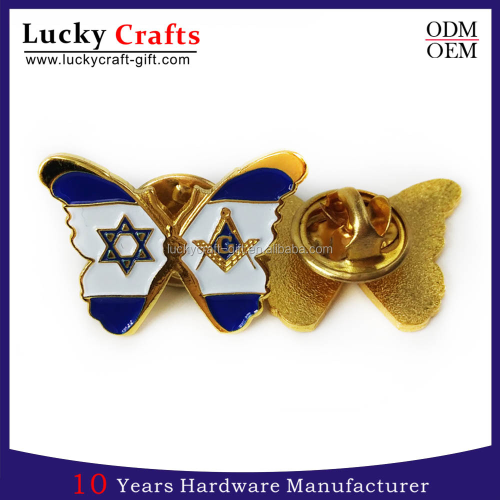 cheap custom metal military soft enamel lapel pin badge for sales