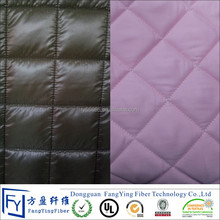 Ultrasonic Wave Bonded quilted jacket thermal fabric