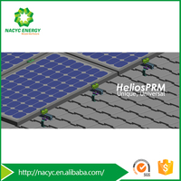 Various Roof Form Applied PV Mounting Kit Helios PRM for Home Solar System
