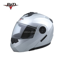 motorbike helmet cheaper top hot/ flip up helmets with double visor BLD-159