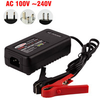 Lead Acid Battery Charger 12V 3A Desktop Charger Electric Adaptor for All Brands Scooters
