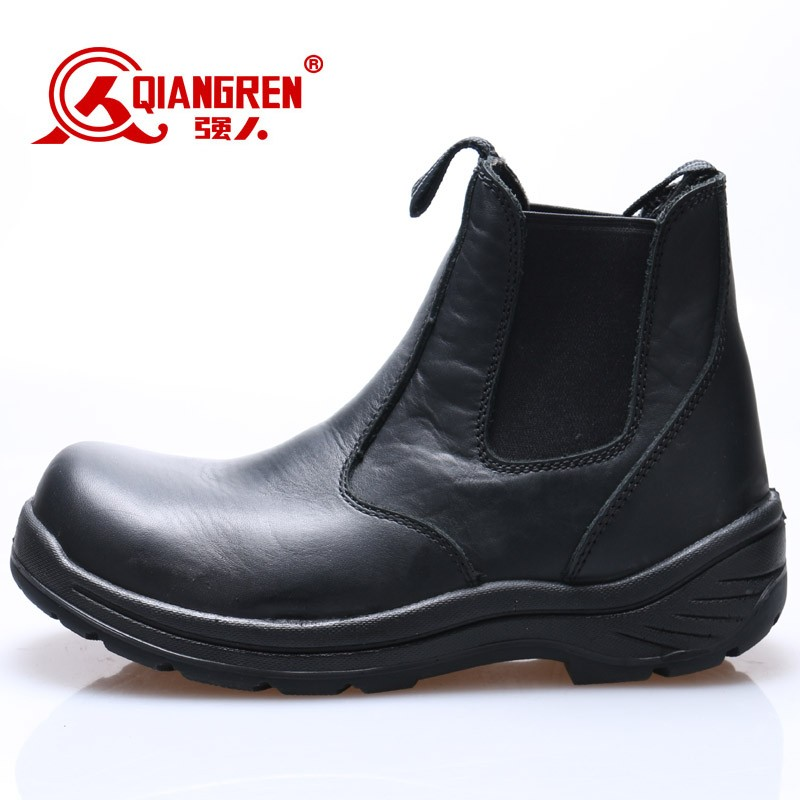 black kings safety shoes with steel toe for men
