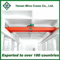 Electric Wire Rope Hoist Double Beam Overhead E.O.T Cranes Price