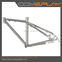 titanium alloy touring bicycle frame