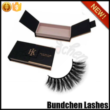 Custom eyelash magnet paper packaging for all style false lashes