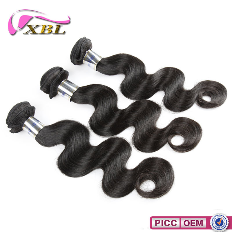 Long use time and fast delivery grade 7A virgin human hair weave