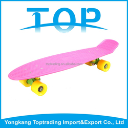 Portable modern skateboard oem fish longboard skateboard for teenagers