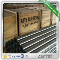 Raw Marterial Inch Diameter Stainless Steel Pipe Tube Grade 304L Price Per ton