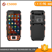 China supplier best quality wireless handheld C5000 rugged ip65 pda specifications