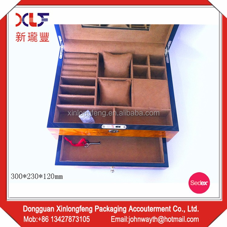 Wholesale High Quality jewelry box wooden