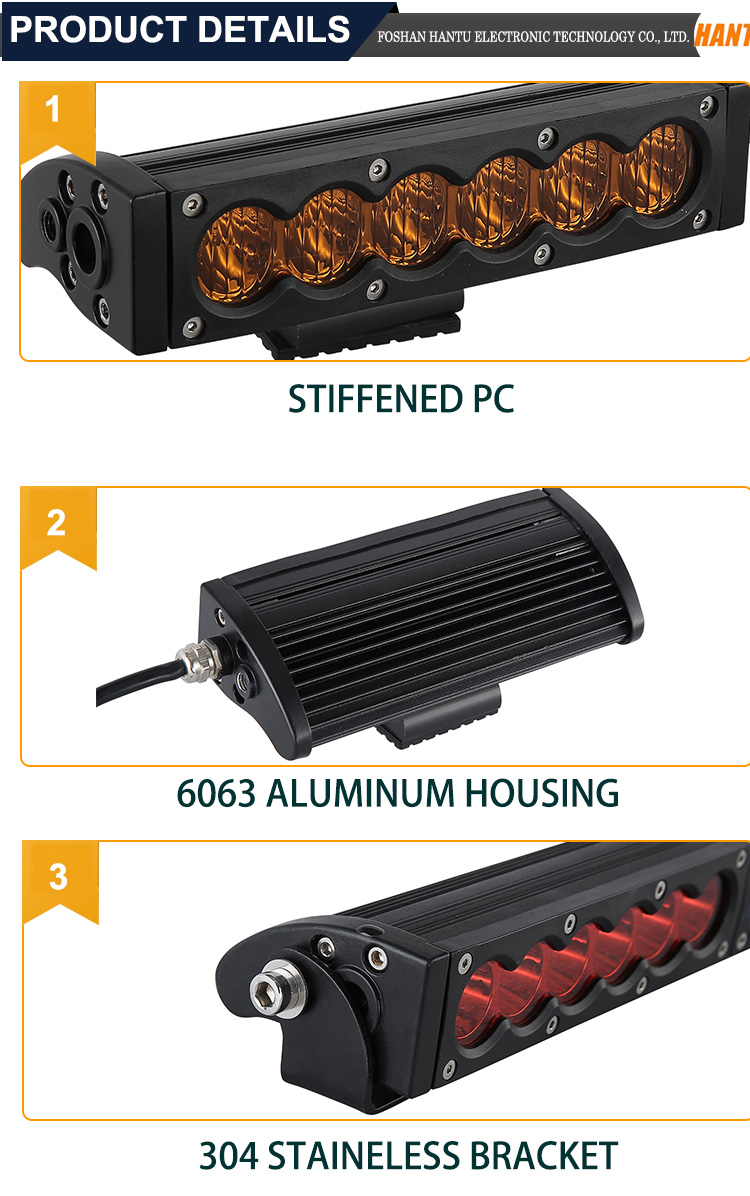 New products cheap lights flash amber led light bar
