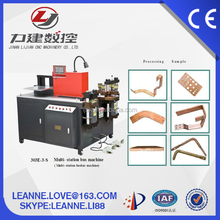 edge bending machine CNC hydraulic copper busbar cut punch bend machine