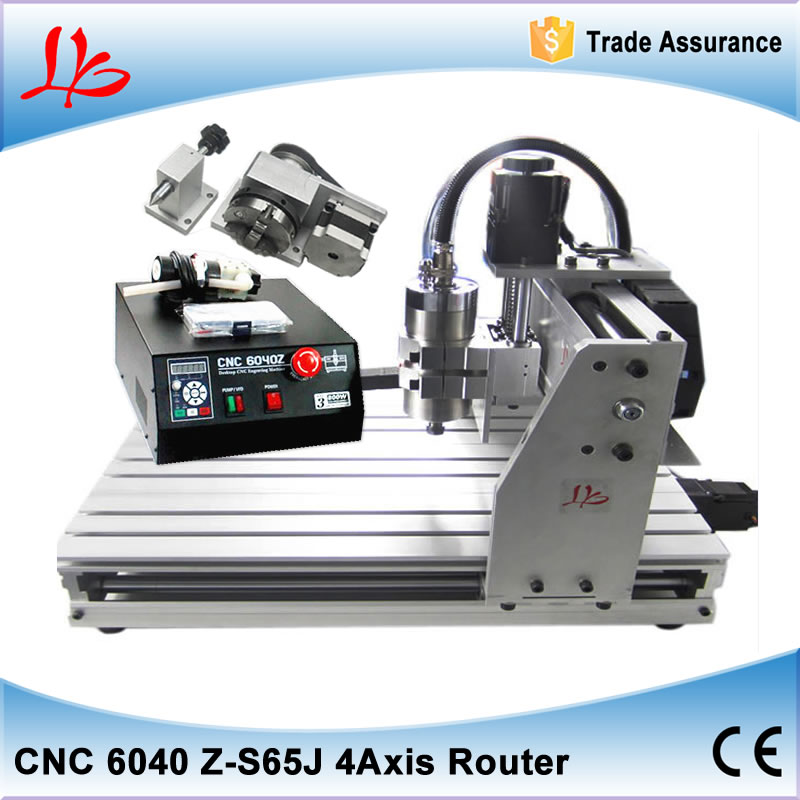 Newest CNC router 6040Z-S65J Engraving/ Drilling and Milling Machine