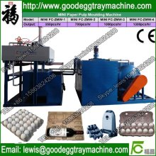 Chicken egg plate forming machine