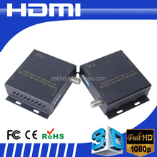 HDMI extender by coaxial