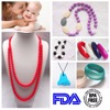 Kean 2017 Silicone Baby Teething Necklace/Silicone Pendant Teething Wholesale